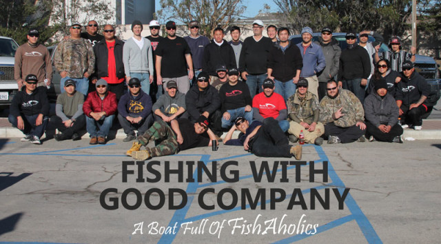 Fishing With Good Company: A Boat Full Of FishAholics