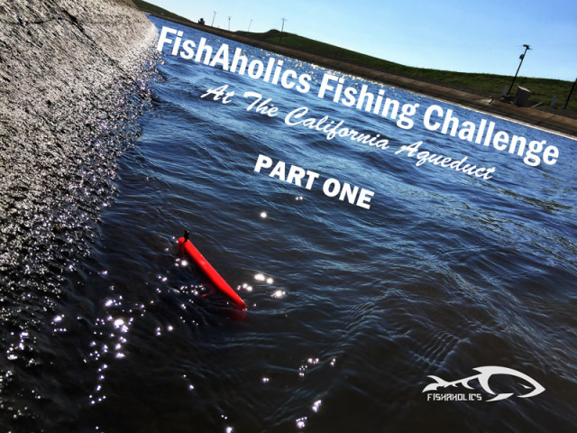 FishAholics Fishing Challenge At The California Aqueduct: Part One