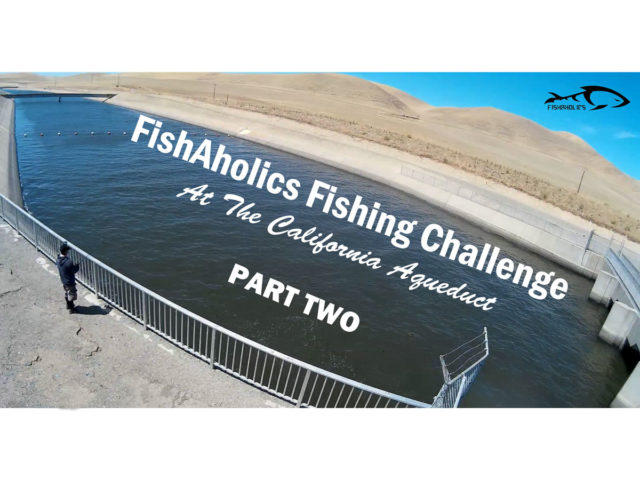 FishAholics Fishing Challenge At The California Aqueduct: Part Two